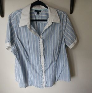 Button up blouse by Tommy Hilfiger